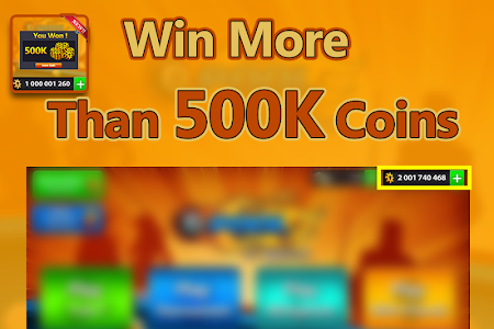 screenshot of Coins for 8 ball Pool : PRANK version 2.0