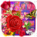 Download Color Rose Butterfly Love Keyboard 10001009 APK