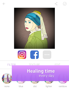 screenshot of ColorFil - Adult Coloring Book version 1.0.76