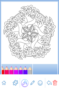 Download Animal coloring mandala pages 4.1.6 APK