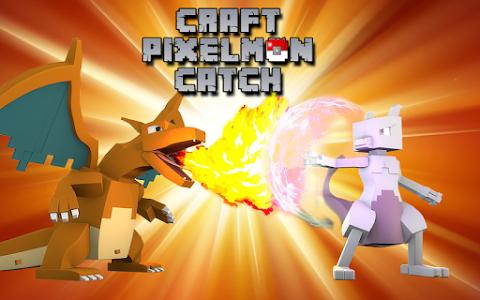 screenshot of Craft Pixelmon Catch version 2.0
