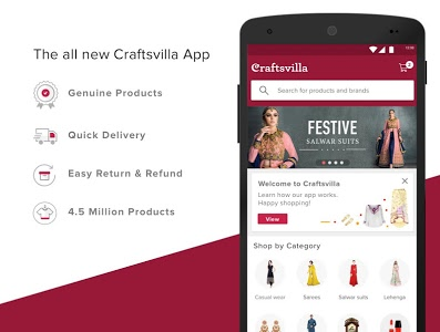 Download Craftsvilla - Ethnic wear Online Shopping 3.1.6 APK