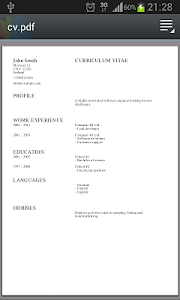 Download Curriculum Vitae 3 0 Apk Downloadapk Net