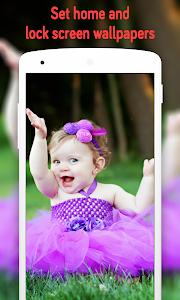 Download Cute Baby Wallpaper (4k) 1.1 APK