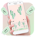 Cute Cartoon Cactus Keyboard Theme