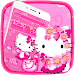 Download Cute Kitty Pink Cat Theme 1.1.3 APK