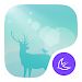 Download Deer in the forest theme 703.0 APK
