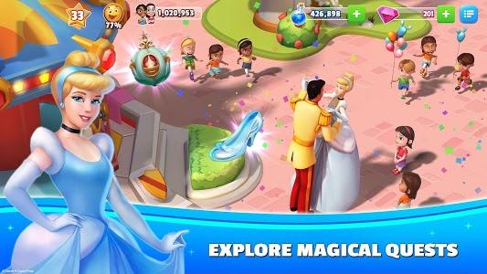 screenshot of Disney Magic Kingdoms: Build Your Own Magical Park version 3.6.1a