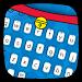 Download Dore Meow Blue Cat keyboard 10001008 APK