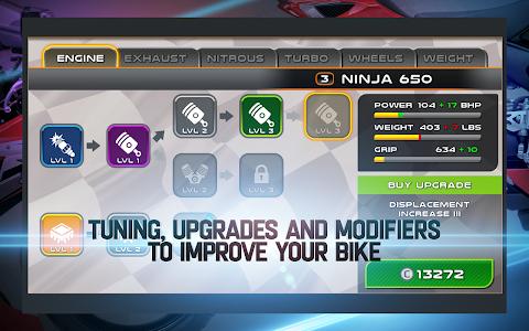 screenshot of Drag Racing: Bike Edition version 2.0.2