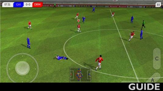 screenshot of Dream League Soccer Guide version 1.0