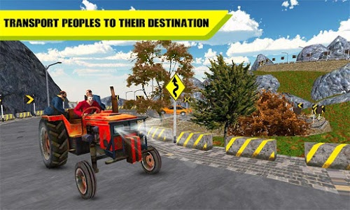 Download Drive Tractor Simulator Transport Passenger, Goods 1.1 APK