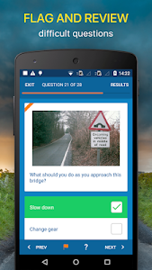 screenshot of Driving Theory Test 2018 Free for UK Car Drivers version 6.4.0