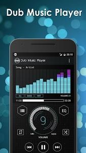 screenshot of Dub Free Music Player version 1.9.8