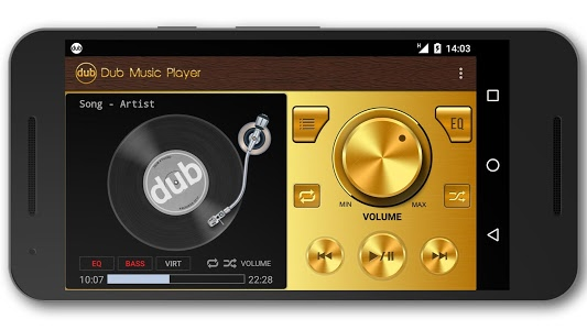 screenshot of Dub Music Player - Audio Player & Music Equalizer version 2.9