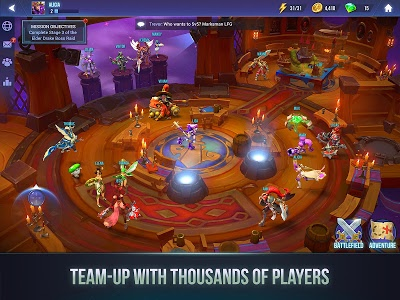 screenshot of Dungeon Hunter Champions: Epic Online Action RPG version 1.1.21