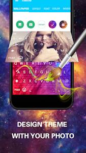screenshot of Emoji Keyboard Cute Emoticons - Theme, GIF, Emoji version 1.7.2.0