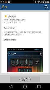 screenshot of Equalizer version 4.0.5