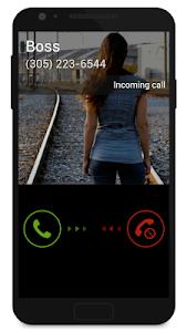 screenshot of Fake Call 2 version 0.0.54