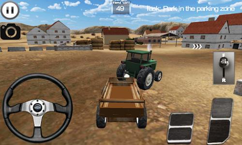 screenshot of Farmer FX Tractor Simulator version 1.2