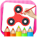 Download Fidget Spinner Coloring Book & Drawing Game 3.0.0 APK