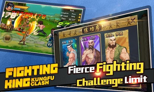 screenshot of Fighting King:Kungfu Clash Game Offline version 1.5.2.186