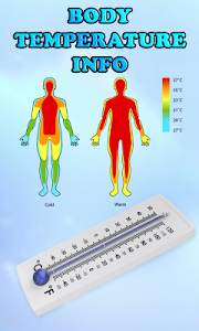 screenshot of Body Temperature Info version 1.30
