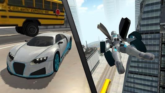 Download Flying Car Robot Flight Drive Simulator Game 2017 6 APK