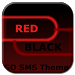 Download GO SMS Theme Dark Red Black 1.6 APK