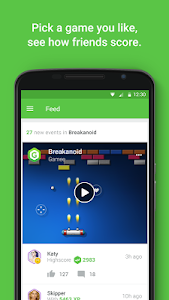 screenshot of Gamee - play, win, share! version 1.2.1