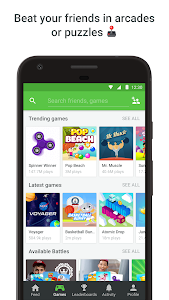 screenshot of GAMEE - Play 100 free games version 1.3.3