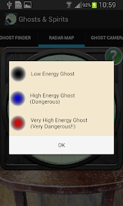screenshot of Ghosts version Varies with device
