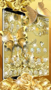 Download Golden Butterfly Luxury Launcher 5.44.11 APK