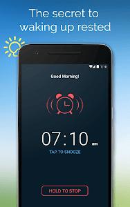 screenshot of Good Morning Alarm Clock version 1.1