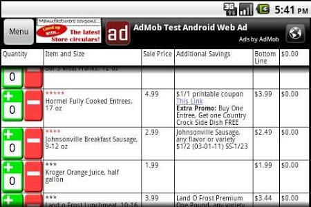 Download Grocery Smarts Coupon Shopper 1.3.4 APK