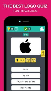screenshot of Guess the Logo: Ultimate Quiz version 1.0.2
