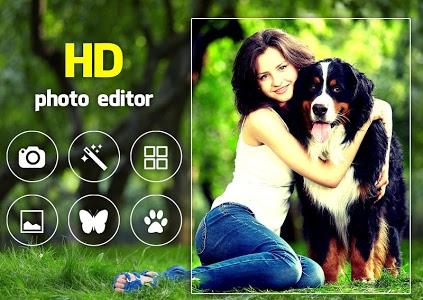 screenshot of HD Photo Editor version 9.1.2