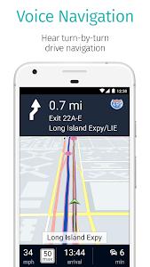 screenshot of HERE WeGo - Offline Maps & GPS version 2.0.12509