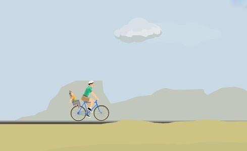 screenshot of Happy Wheels version 2.0