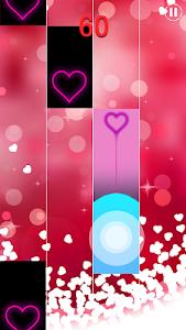 screenshot of Heart Piano Tiles version 1.0.0