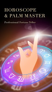 screenshot of Horoscope & Palm Master-Palm Scanner and Aging version 1.42