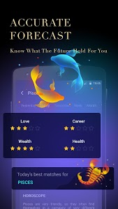 screenshot of Horoscope & Palm Master-Palm Scanner and Aging version 1.43
