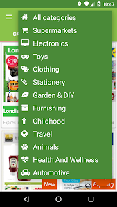 screenshot of ILikeSales Catalogues & Offers version 2.6.8