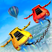 Download Impossible Flying Chained Car Games 1.8 APK