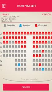 screenshot of Jazz Cinemas - Movie tickets version 1.0.6