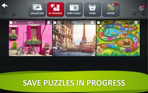 screenshot of Jigsaw Puzzle Collection HD - puzzles for adults version 1.0.1.0