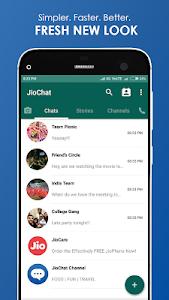 screenshot of JioChat: HD Video Call version 3.2.5.7