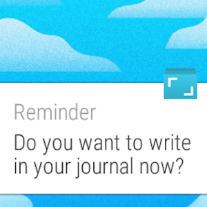 screenshot of Journey - Diary, Journal version 1.19.5D