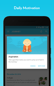 screenshot of Journey - Diary, Journal version Varies with device