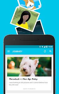 screenshot of Journey - Diary, Journal version 1.21.1F